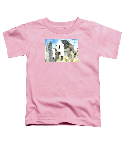 Abbey Watercolor Toddler T-Shirt