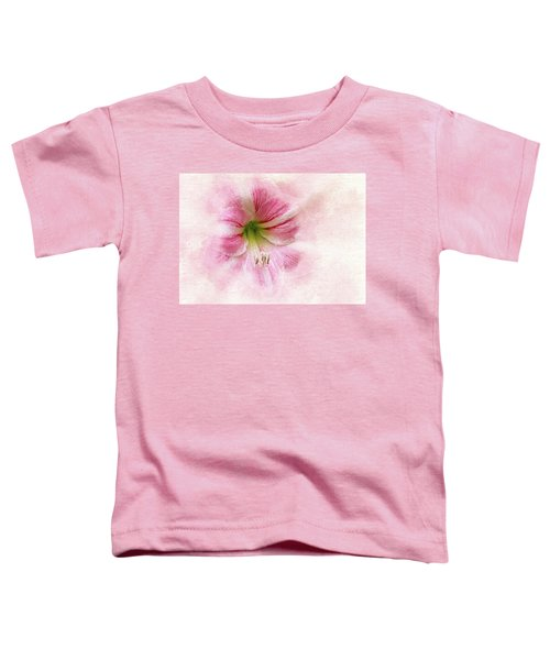 Abstract Amaryllis Toddler T-Shirt
