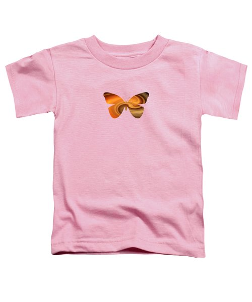Abstract Butterfly Toddler T-Shirt