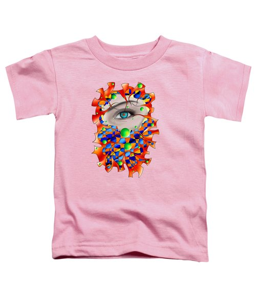Abstract Digital Art - Delaneo V3 Toddler T-Shirt