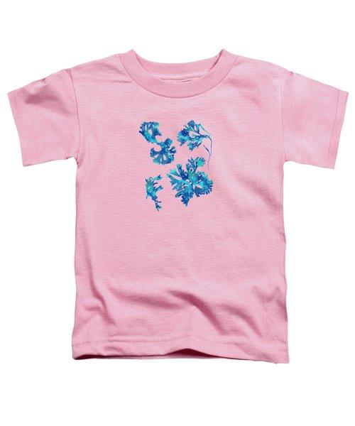 Abstract Seaweed Art Rhodomenia Laciniata Toddler T-Shirt