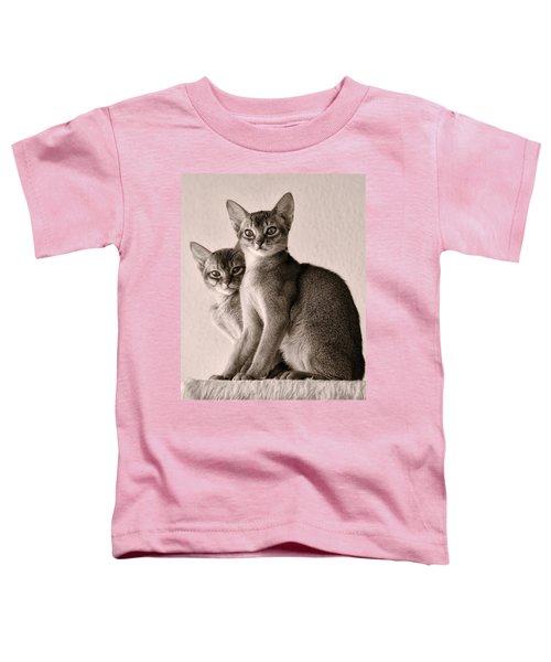 Abyssinian Kittens Toddler T-Shirt