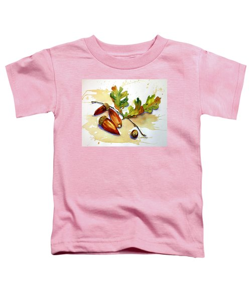 Acorns And Leaves Toddler T-Shirt