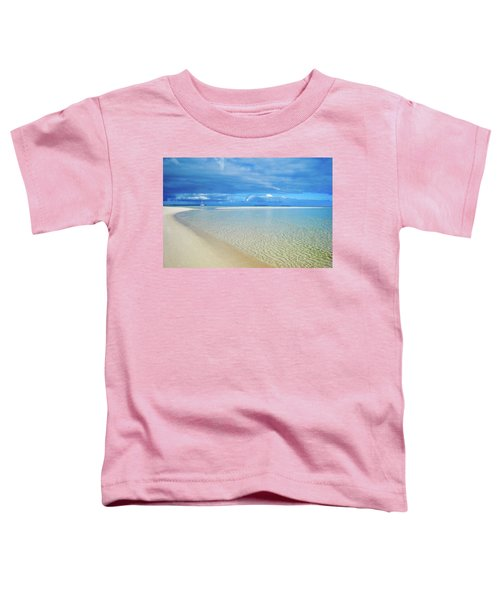 Adagio Alone In Ouvea, South Pacific Toddler T-Shirt