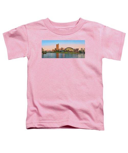 Adelaide Riverbank Panorama Toddler T-Shirt