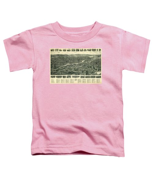 Aero View Of Ansonia, Connecticut Toddler T-Shirt