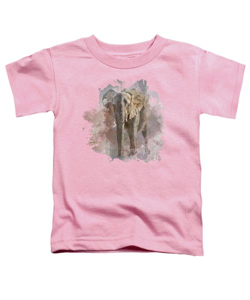 African Elephant - Transparent Toddler T-Shirt