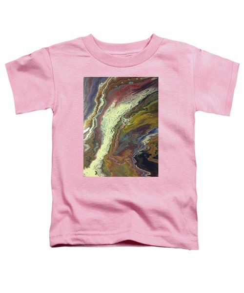 Agate Waterfall Toddler T-Shirt