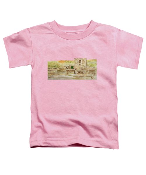 Alcazaba Of Almeria Toddler T-Shirt