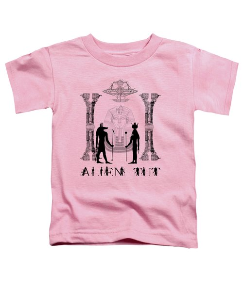 Alien King Tut Toddler T-Shirt