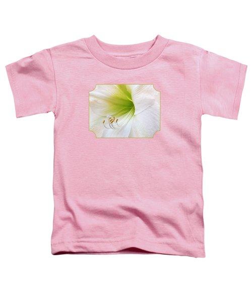 Alluring Amaryllis Square Toddler T-Shirt
