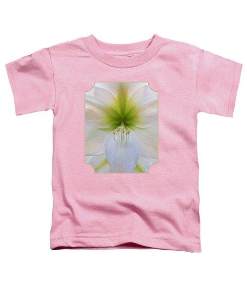 Alluring Amaryllis Vertical Toddler T-Shirt