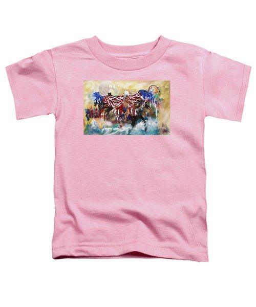 American Pride Toddler T-Shirt