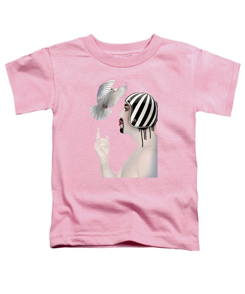 Amir Fun  Toddler T-Shirt by Mark Ashkenazi