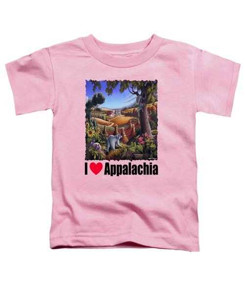 Amish Country - Coon Gap Holler Country Farm Landscape Toddler T-Shirt