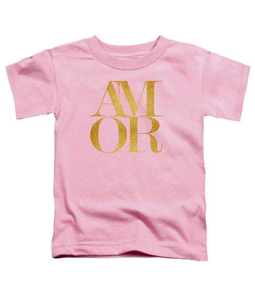 Amor Toddler T-Shirt by Liesl Marelli