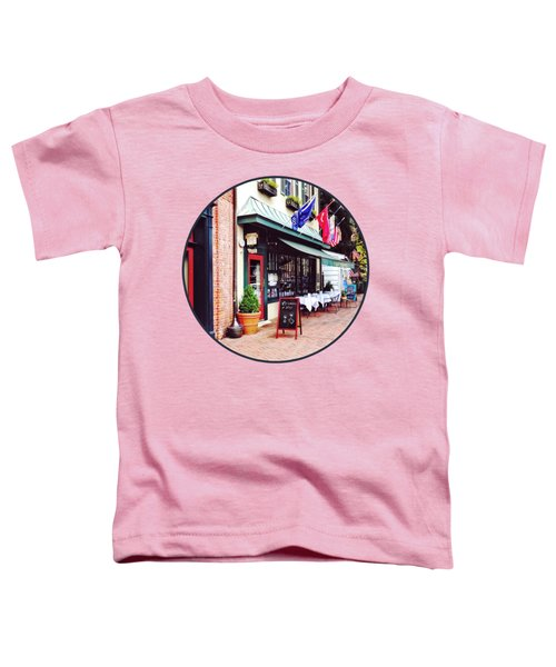Annapolis Md - Restaurant On State Circle Toddler T-Shirt