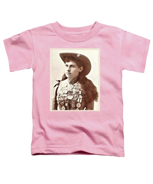 Annie Oakley 1 Toddler T-Shirt