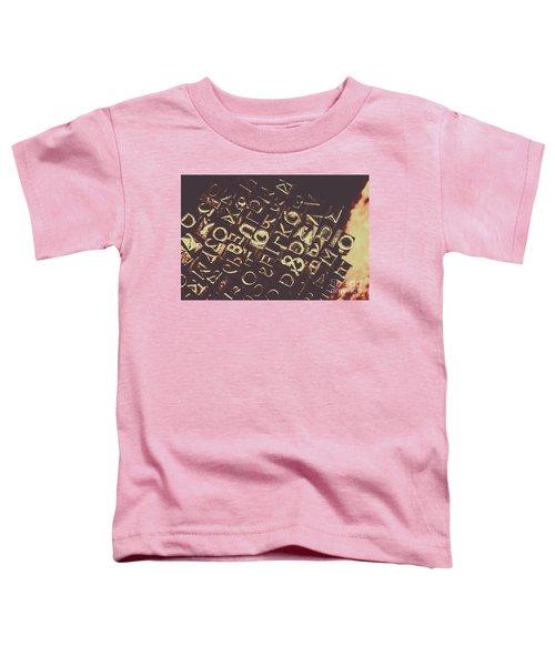 Antique Enigma Code Toddler T-Shirt
