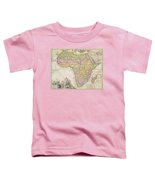 Antique Map Of Africa Toddler T-Shirt