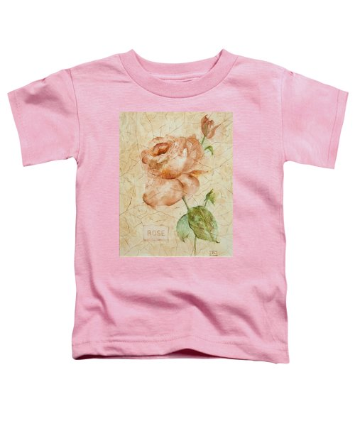 Antique Rose Toddler T-Shirt