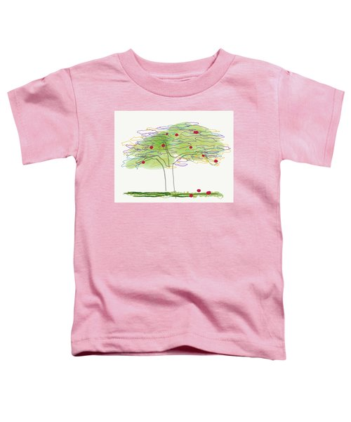 Apple Tree  Toddler T-Shirt