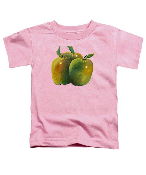 Apple Trio Toddler T-Shirt
