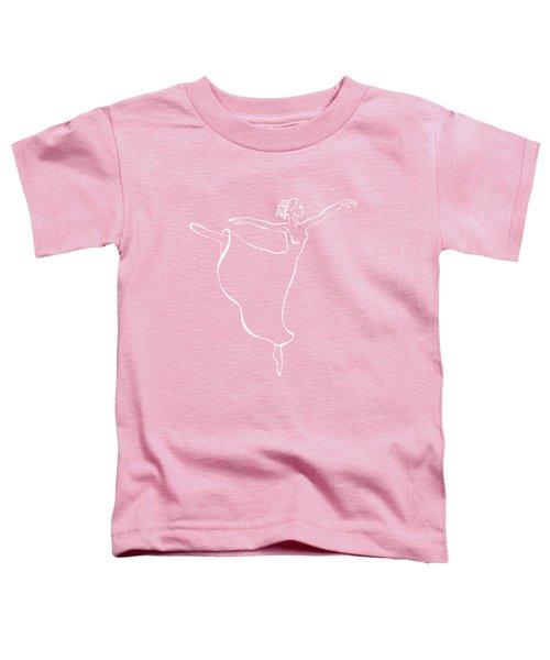 Arabesque Ballerina Toddler T-Shirt