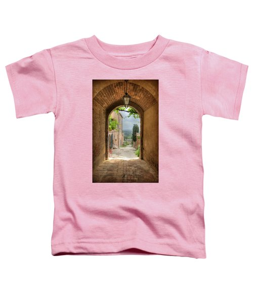 Arched View Toddler T-Shirt