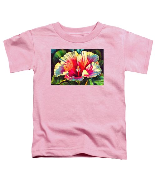 Art Floral Interior Design On Canvas Toddler T-Shirt