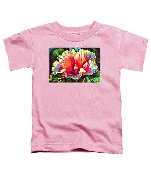 Art Floral Interior Design On Canvas Toddler T-Shirt