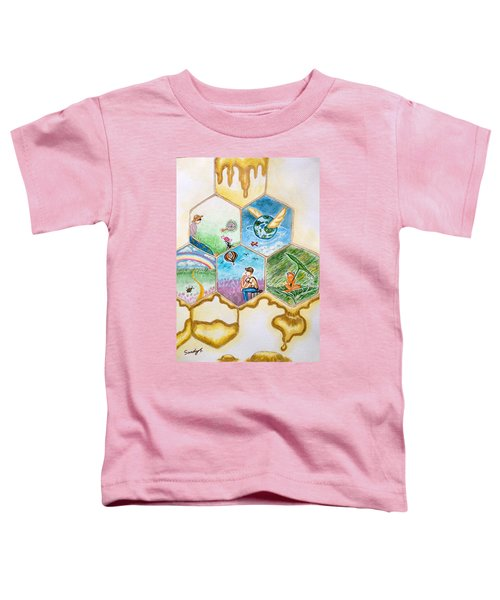 Art Is The Stored Honey Toddler T-Shirt