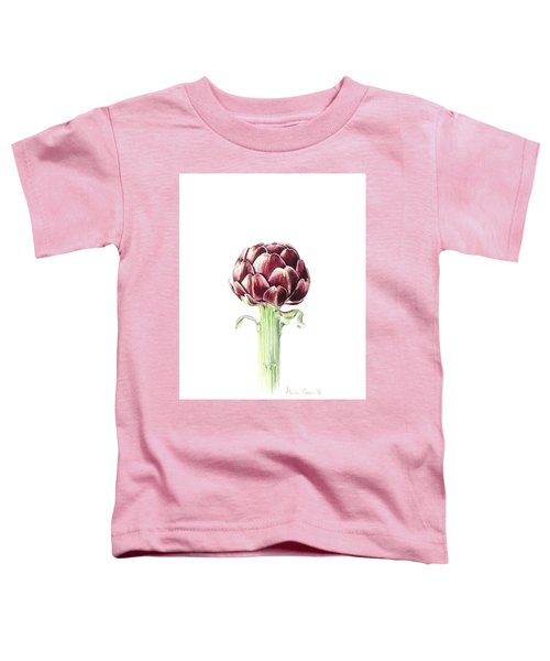 Artichoke From Roman Market Toddler T-Shirt by Alison Cooper