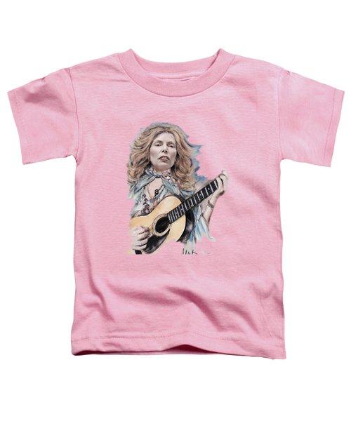 Joni Mitchell Toddler T-Shirt