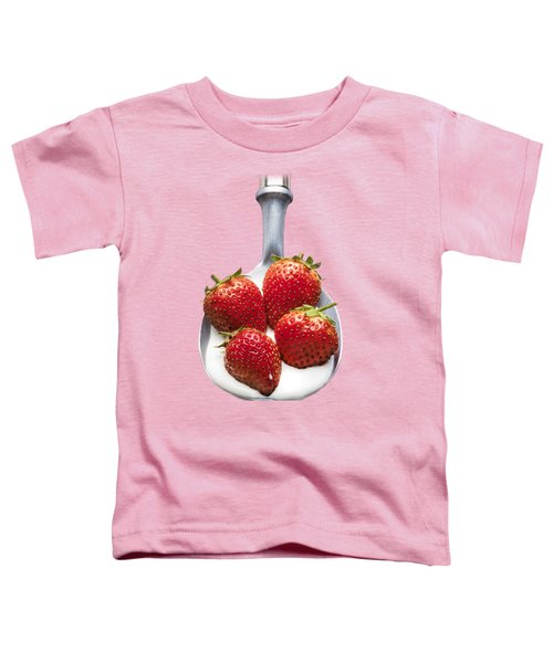 Strawberries N Cream Toddler T-Shirt