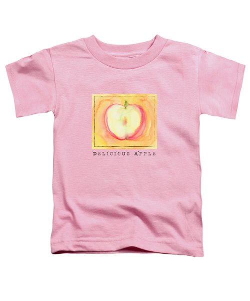 Delicious Apple Toddler T-Shirt