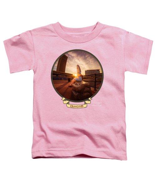 Shark Girl Dawn - Horizontal Toddler T-Shirt