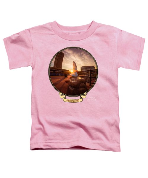 Shark Girl Dawn - Horizontal Toddler T-Shirt