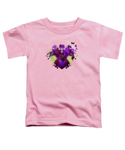 Deep Purple Toddler T-Shirt by Anita Faye