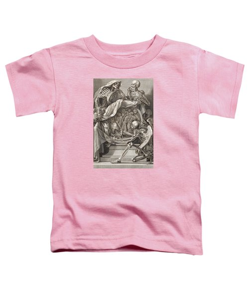Bernardino Genga - Allegorical Emblems Of Death Toddler T-Shirt