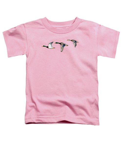 Flying Mallards Toddler T-Shirt