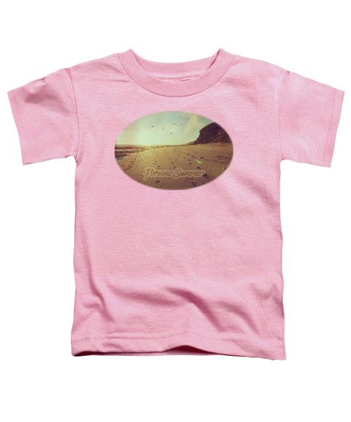 Toddler T-Shirt featuring the photograph Forever Summer 9 by Linda Lees