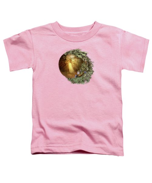 No Such Thing As Elves Toddler T-Shirt by Susan Capuano