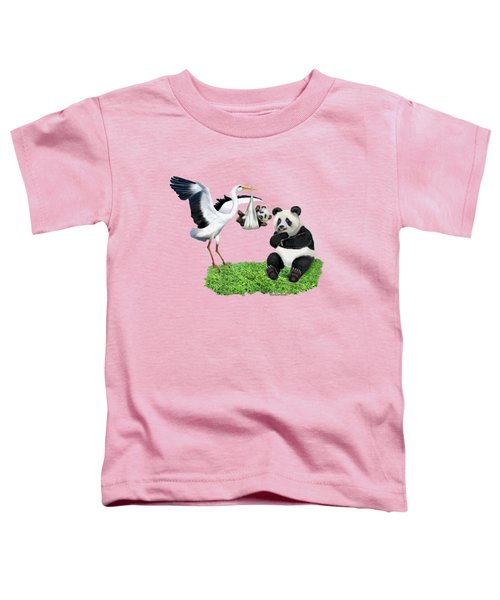 Bundle Of Joy Toddler T-Shirt by Glenn Holbrook