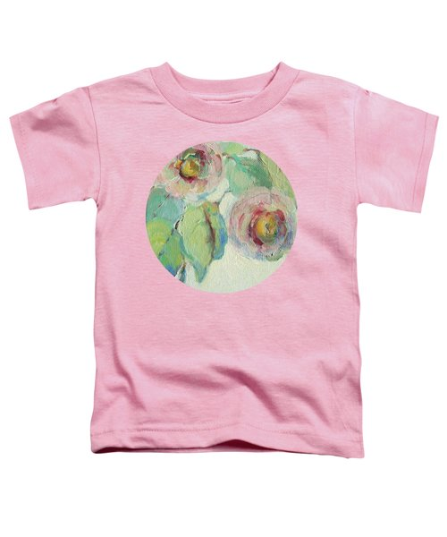 Impressionist Roses  Toddler T-Shirt