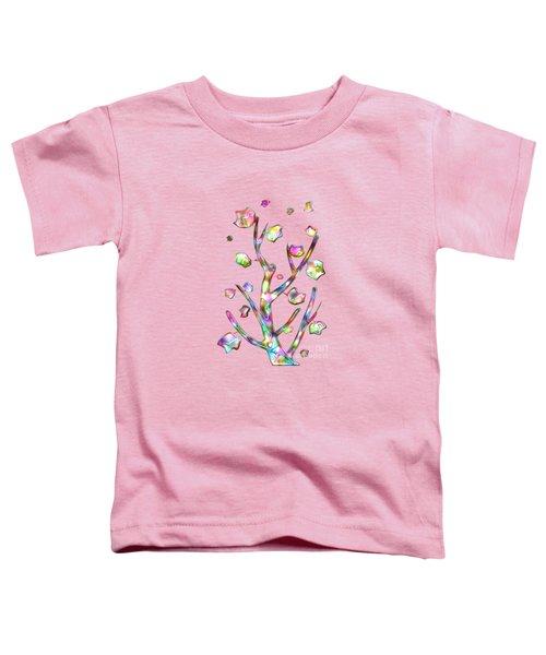 Rainbow Tree Toddler T-Shirt by Anastasiya Malakhova