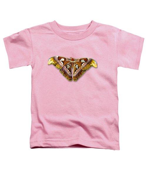 Atlas Moth 2 Sehemu Mbili Unyenyekevu Toddler T-Shirt