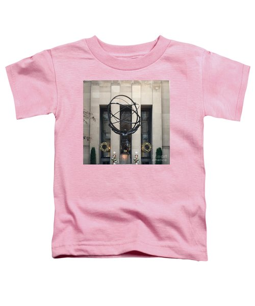 Atlas Statue Toddler T-Shirt