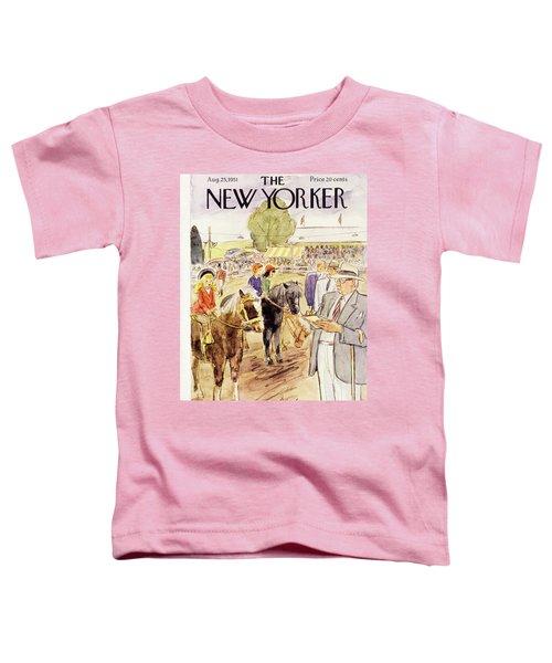 New Yorker August 25 1951 Toddler T-Shirt