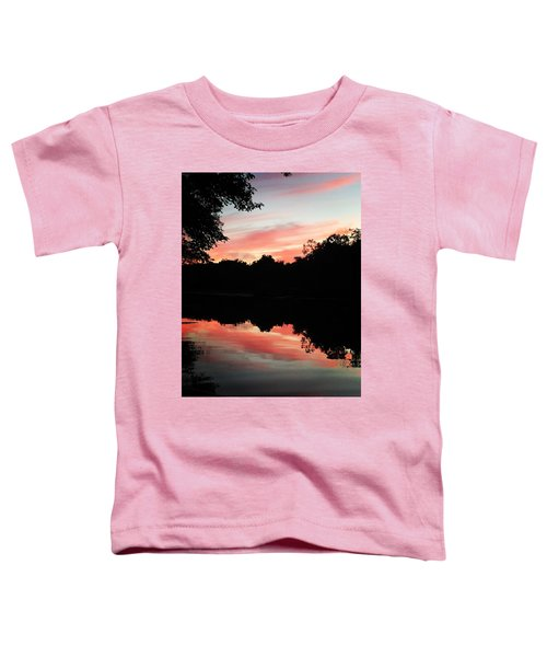 Awesome Sunset Toddler T-Shirt